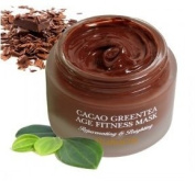 KOREAN COSMETICS, ELISHACOY, Cacao Green Tea Age Fitness Mask 70g (skin elasticity, pores Care, Cream mask made with cacao)[001KR]