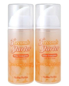 KOREAN COSMETICS, ENPRANI_ HolikaHolika, 3 Seconds Starter 150ml * 2ea (Vita Complex, whitening & moisturising)[001KR]