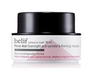 KOREAN COSMETICS, LG Household & Health Care_ belif, First Aid - Overnight Anti-Wrinkle & Firming Mask 50ml (anti-ageing, anti-wrinkle, elasticity, pack)[001KR]