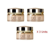 3 Units X 30g. Mistine Caviar Anti- Ageing Night Treatment Cream. (Free Gift