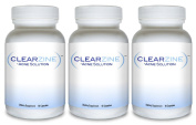 ClearZine (3 Bottles) - The Top Rated Acne Treatment Pill. Eliminates Blotchiness, Redness, Blackheads and Zits