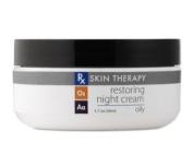 Rx Skin Therapy Restoring Night Cream - Oily