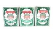 3x Ya-hom Powder Five Pagodas Medicine Relieve Stomach Aches Pain Dizzy & Faint Made in Thailand