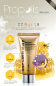 KOREAN COSMETICS, CNP Laboratory_ Propolis Deep Moisture Pack 80ml (moist, honey sleeping pack, soothing, nourishing, vibrant face)[001KR]