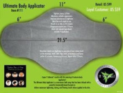 The Ultimate Body Applicator- Box of 4 Wraps