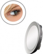 Zadro Next Generation LED Lighted Mirror, Silver Finish, 10X
