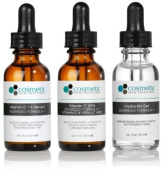 3 combo pack - CE Ferulic serum + Vitamin C 20% + Hydrating B5 Gel Advanced Formula +. Prevent / Hydrate - 1 fl oz / 30 ml each - Advanced antioxidant treatment with hydrating gel.