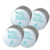 Biologic Stem Cell Therapy (Set of 4 Jars) for Deep Wrinkles -