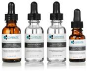 Phloretin Serum + Resurfacing serum + Hydra B5 Gel + Firming Eye Gel Advanced Formula +. Prevent / Resurface / Hydrate / Firm Eyes - 4 combo pack - 1 fl oz / 30 ml each.