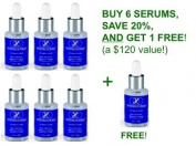 Hydroderm Age-Defying Wrinkle Serum with Matrixyl 30ml - 6 PACK