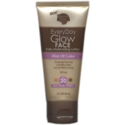 Banana Boat Everyday Glow Face Daily Moisturising Lotion, Hint of Colour, All Skin Tones, SPF 20, 90ml
