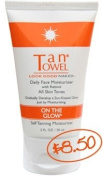 TanTowel On The Glow - Daily Face Moisturiser with retinol, 60ml