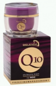 Bielenda Q10 Effective Night Cream, Anti-Wrinkle 30+, 50ml