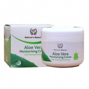 Aloe Vera Moisturising Cream with Almond Oil, Evening Primrose and Vitamin E (100 g) - New Zealand