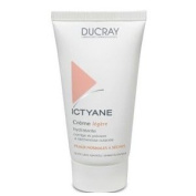 Ducray Ictyane Face Moisturising Light Cream 50ml