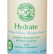Organic Hydrate Daily Nutrient Moisturiser Face Cream with Pomegranate and Japanese Rooibos Tea - Paraben Free