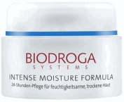 Biodroga Intense Moisture Formula 24 Hour Care for Dry Skin 50ml