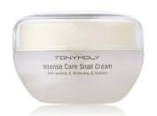 KOREAN COSMETICS, TONYMOLY_ Intense Care Snail cream 45ml (snail phlegmatic 70% cotton, high-nutrition cream, low irritation, skin improvement, moisturising, elastic)[001KR]