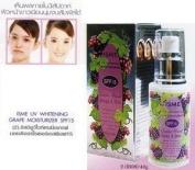 Isme Uv Whitening Grape Moisturiser Prevent Skin Dryness Milky Lotion Spf 15