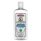 Alcohol-Free Unscented Witch Hazel w/Organic Aloe Vera Formula Toner-355 ml Brand