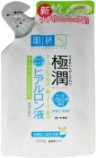 Rohto Gokujyun Super Hyaluronic Moisturising Lotion Light, Refill Pack, 150ml