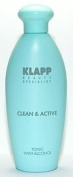 KLAPP CLEAN and ACTIVE TONIC WITH ALCOHOL 250 ml