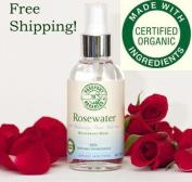 Organic Rosewater Toner Mist with Bulgarian Rose - Paraben Free!