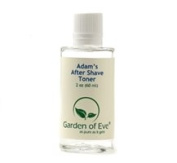 Adam's After Shave -Toner /Men's Face Care (Dry, Normal, Sensitive, Irritated) Moisturising, Anti-ageing (Certified Organic Ingredients)1.7 oz