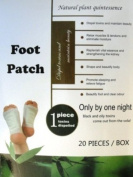 "Detox Foot Patches. Box of 20 patches! Same ingredients as the popular ""Kinoki' brand."