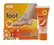 Finale Footsoft Cream - Helps Improved Cracked Heels Within 3Days : 30G