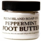 Plum Island Peppermint Foot Cream Butter