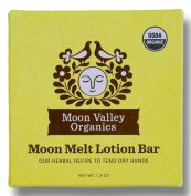Moon Valley Organic Moon Melt Lotion Bar, Dry Skin Moisturiser