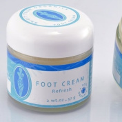 "Brigit True Organics- Organic Foot Cream ""Refresh"""