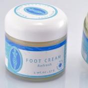 "Brigit True Organics- Organic Foot Cream ""Refresh"""