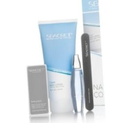 Seacret Nail Care Collection Kit Includes Body Lotion(Pomegtanate Fragrance),Cuticle Oil,Buffing Block, and Nail File