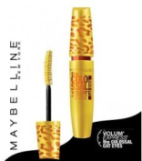 New Maybelline Volum' Express Colossal Cat Eyes Washable Mascara- 233 Glam Black