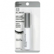 Almay One Coat Nourishing Mascara, Lengthening, BlackBrown 442, 0.4 fl oz