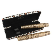Vakind Pack of 2 Black Fibre Leopard Long Curling Eye Lashes Mascara Eyelash Mascara Set