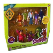 Scooby Doo 10 Friends & Foes Action Figure Collection