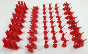 Napoleonic & Civil War Military Miniatures (Red)