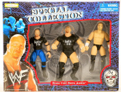 WWF / WWE - 1998 - Jakks - Special Collection - Stone Cold Steve Austin Action Figures Set - 3 Figures - RARE - New - Limited Edition - Collectible