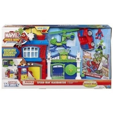 Playskool marvel spider man adventures spider man for Playskool kitchen set
