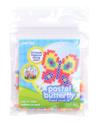 Perler Fun Fusion Fuse Bead Activity Kit-Pastel Butterfly