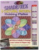 Melissa & Doug Shade-Tex Rubbing Plates - Cultural Patterns Set