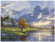 Reeves River's Edge The Artists Collection Painting Set by Numbers, 30cm by 41cm