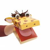 "Manhattan Toy ""Imagine I Can..."" Create-a-Puppet Kit, Giraffe"