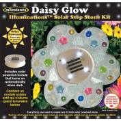Milestones Illuminations Solar Step Stone Kit, Daisy Glow