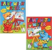 2 Paint With Water Books Magic Paint Included Inside