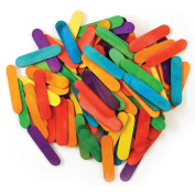 Mini Craft Sticks-Coloured 3.8cm 120/Pkg