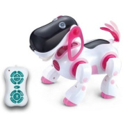 IR RC Intelligent Voice Recognition Touch Control Singing Walking Large Size Robot Dog Toy
